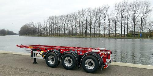 Container Chassis Handle : J l mijnders expands its intermodal fleet lag