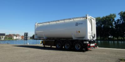 30 FT aluminium silo container for bulk
