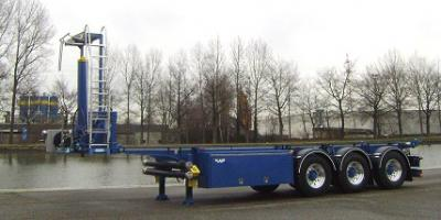 LAG tipping container chassis